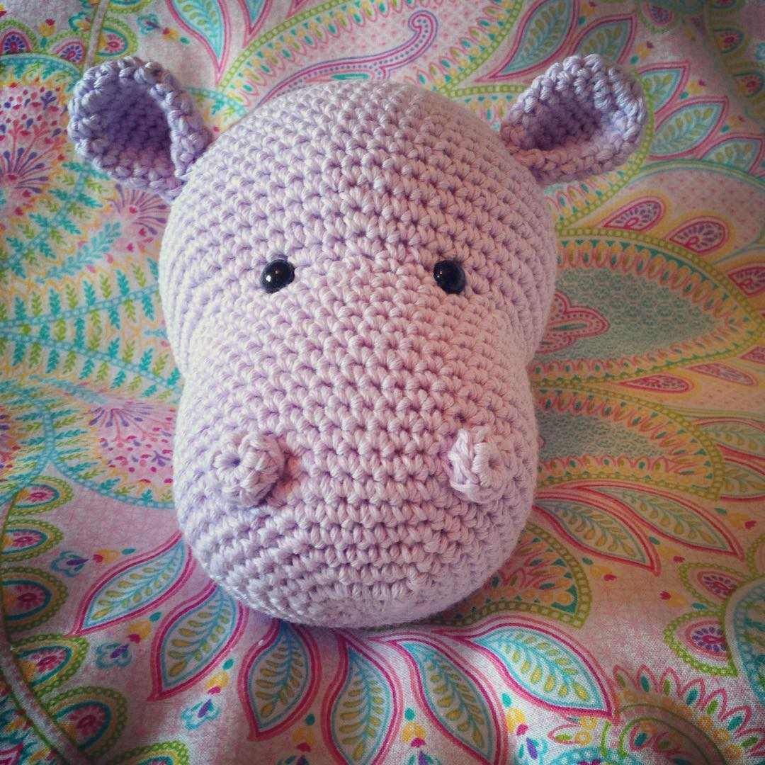DIY Crochet Hippo and Giraffe Amigurumi | UsefulDIY.com | 1080x1080