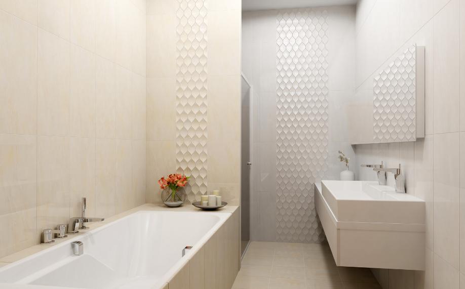motif keramik dinding kamar mandi roman minimalis terbaru 2018
