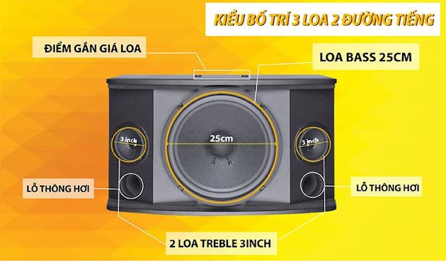 Loa karaoke HAS KF310