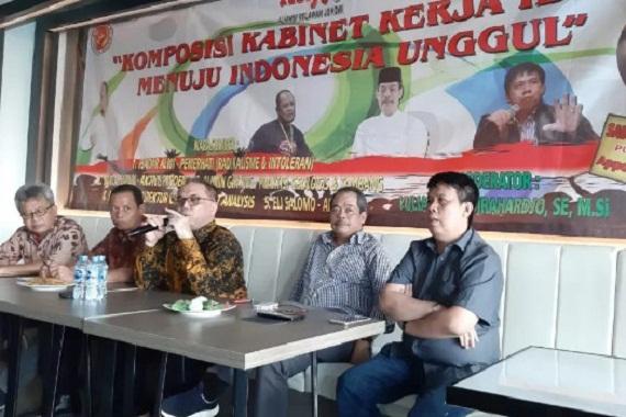 Komposisi Kabinet Kerja Ideal Menuju Indonesia Unggul