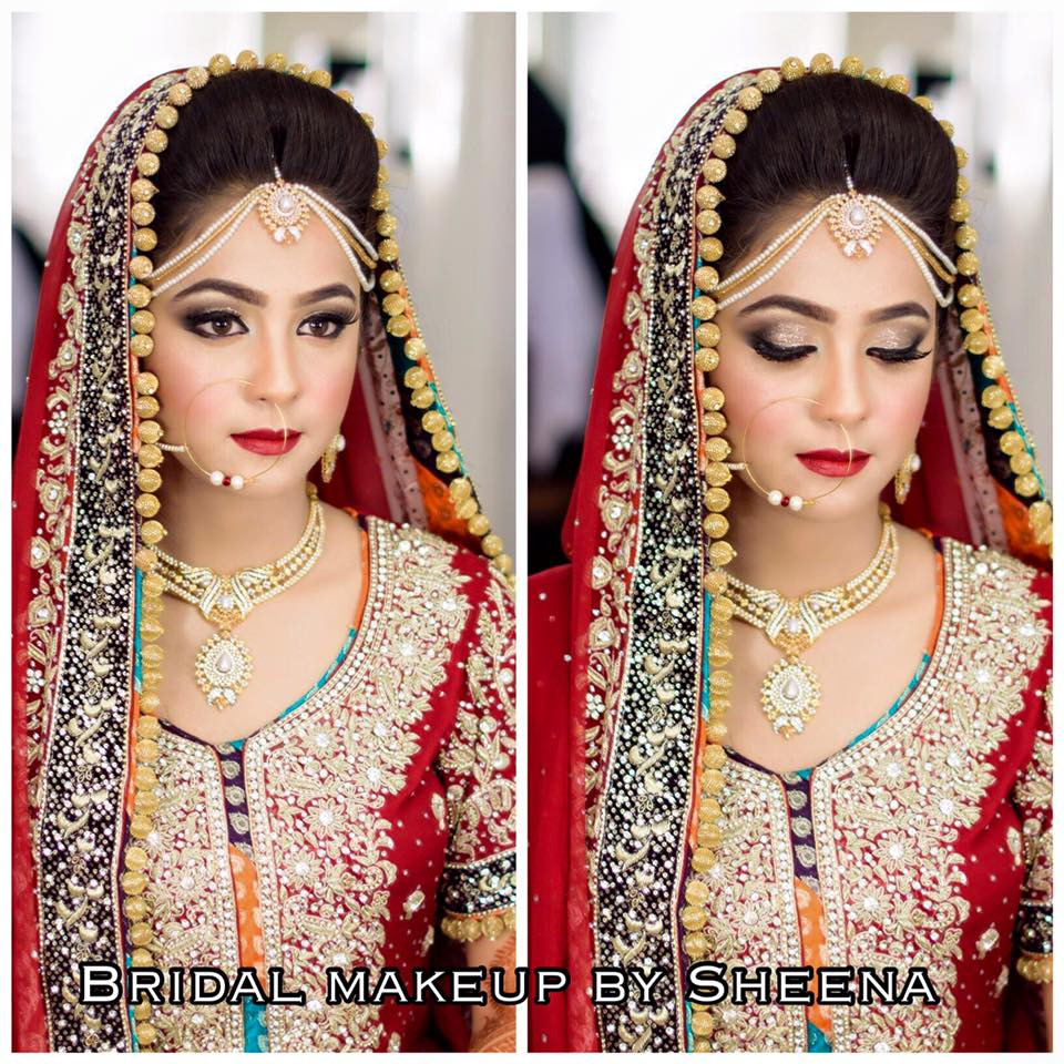 5 most popular pakistani beauty parlors for bridal makeup | fs