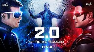 Poster of Indian Bollywood Movie Robot 2.0