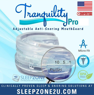 Tranquility™ Pro 2.0 Adjustable Mouth Guard