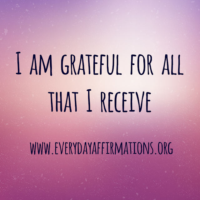 Daily Affirmations - 3 October 2019