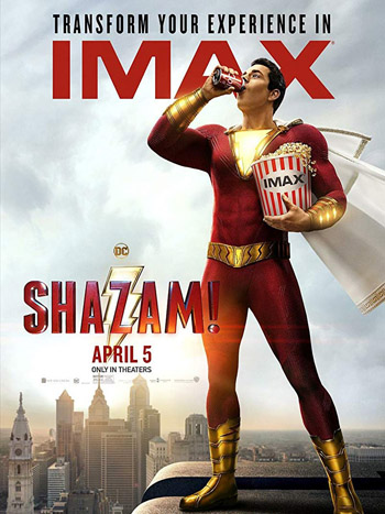 Shazam! 2019 Dual Audio Hindi HDCam 720p 1GB | HDMoviePlus