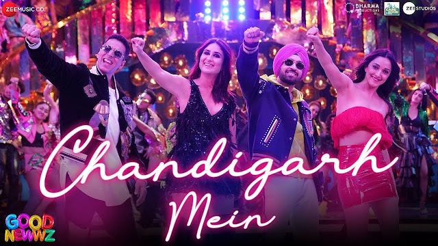 Chandigarh Mein Lyrics In Hindi