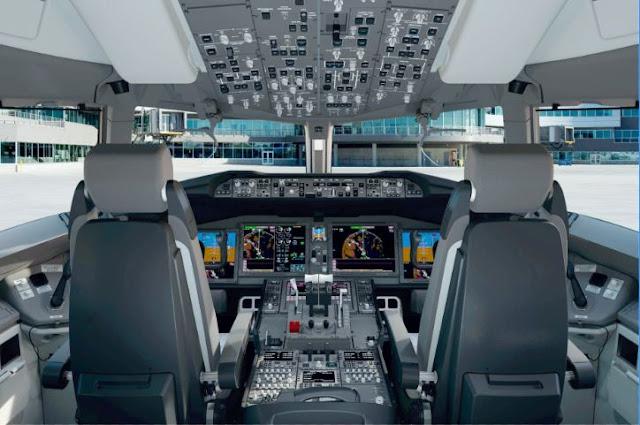 Boeing 777-8 Cockpit