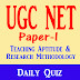 UGC NET Paper-1 Mock Test 73