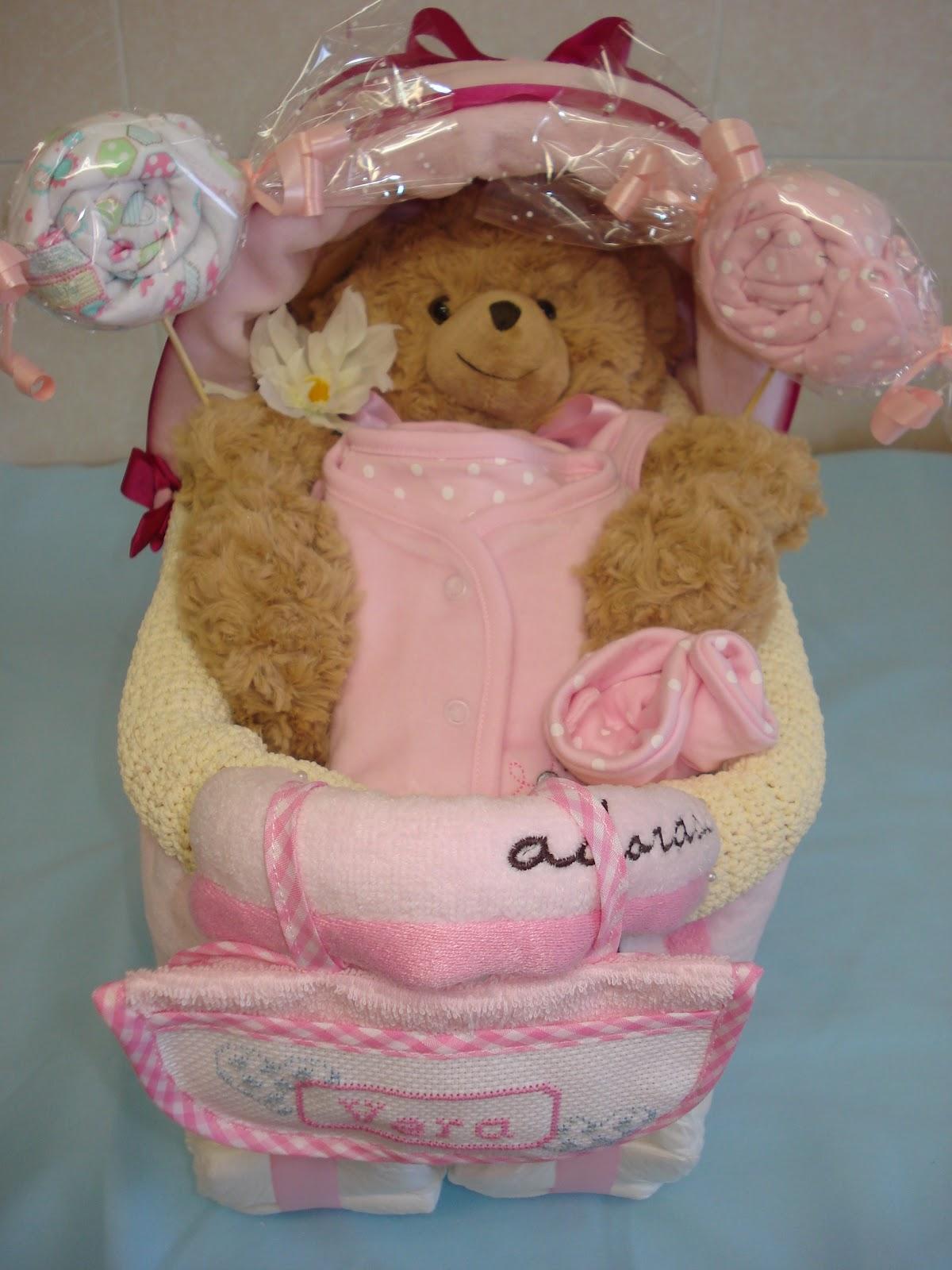 d454cf987e25 CosasdeMarina | Regalos con pañales, detalles para bebes