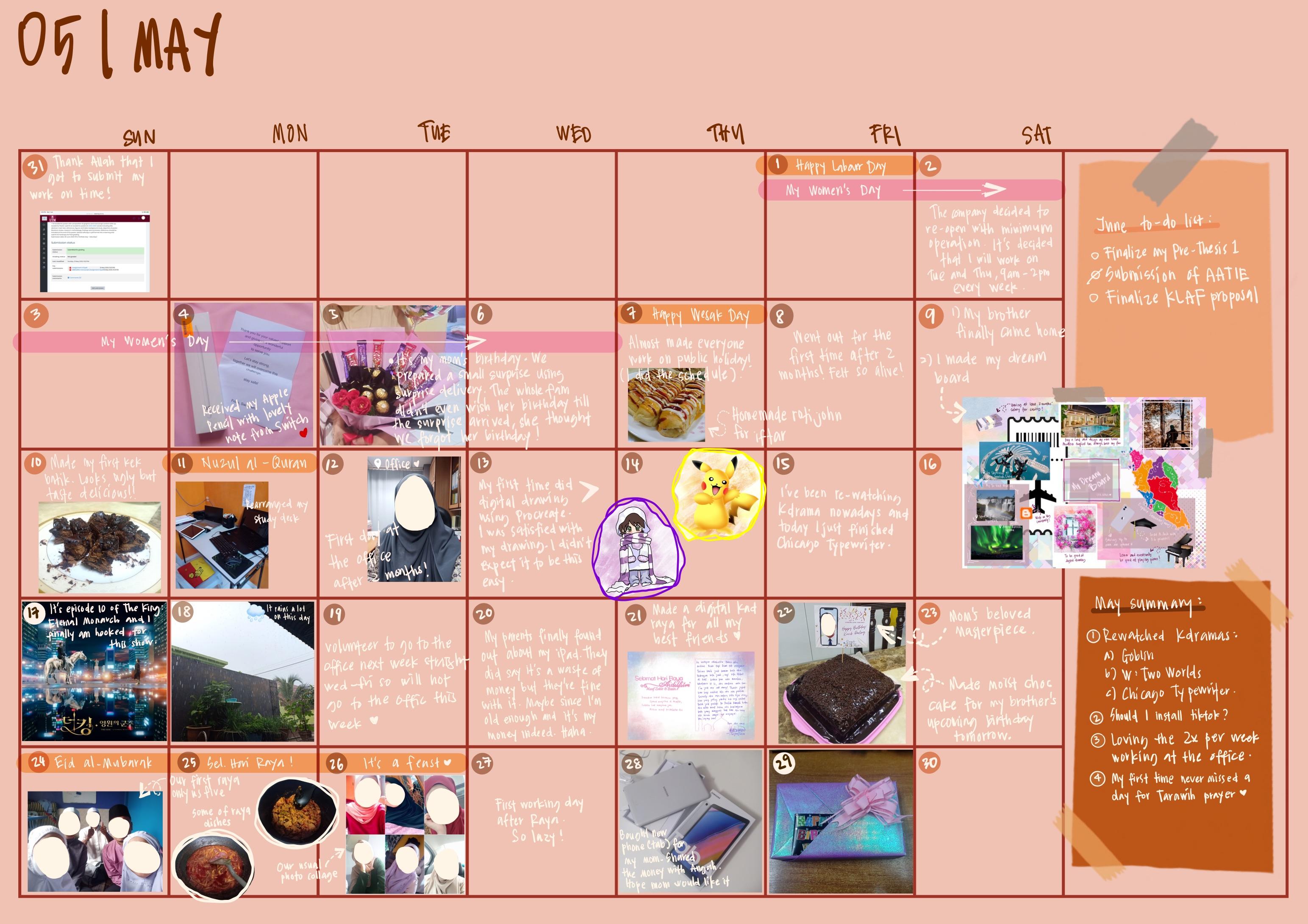 May Diary
