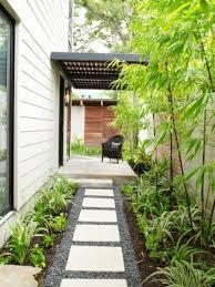 Desain Taman Samping Rumah Minimalis Terbaru 2018 5