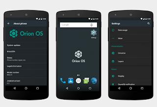 Flash Custom ROM OrionOS V2.7 Untuk Andromax A Tanpa PC