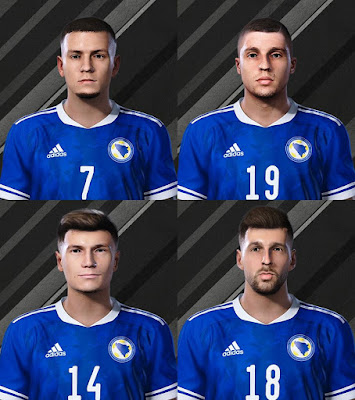 PES 2020 Facepack Bosnia NT by Raden