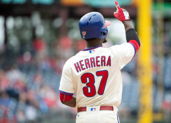 Odubel Herrera lifts Philadelphia past Atlanta
