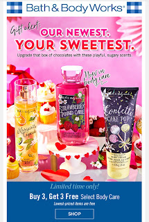 Bath & Body Works | Today's Email - January 27, 2020