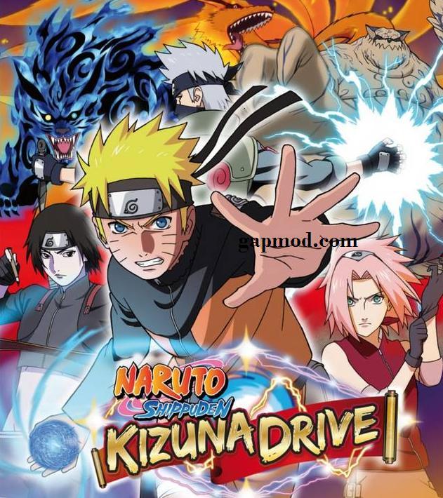 Naruto Shippuden Kizuna Drive ISO PSP Android