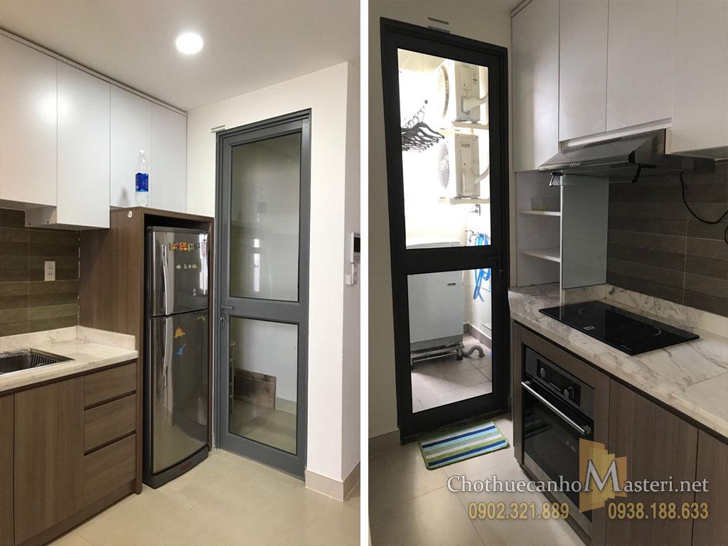Căn hộ cho thuê Masteri quận 2 tầng cao 2PN tòa nhà T1 - hình 9