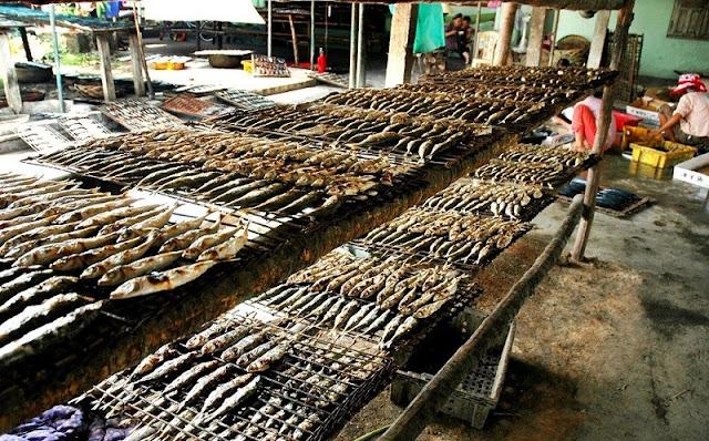 Thơm ngon cá nướng ở làng nghề nổi tiếng Nghệ An - 2