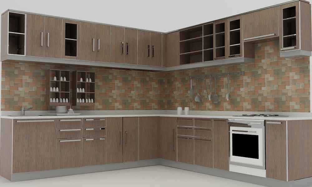 kitchen set model sederhana