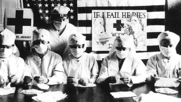 Sains dan pengobatan dalam menanggulangi pandemi flu memiliki keterbatasan dibanding penanganan virus corona (Getty Image)