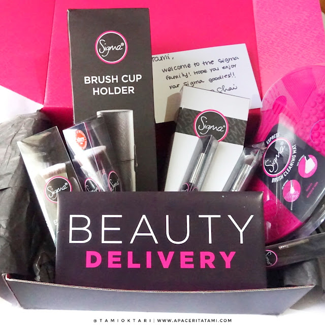 [UNBOXING TIME] Welcome Gift From Sigma Beauty