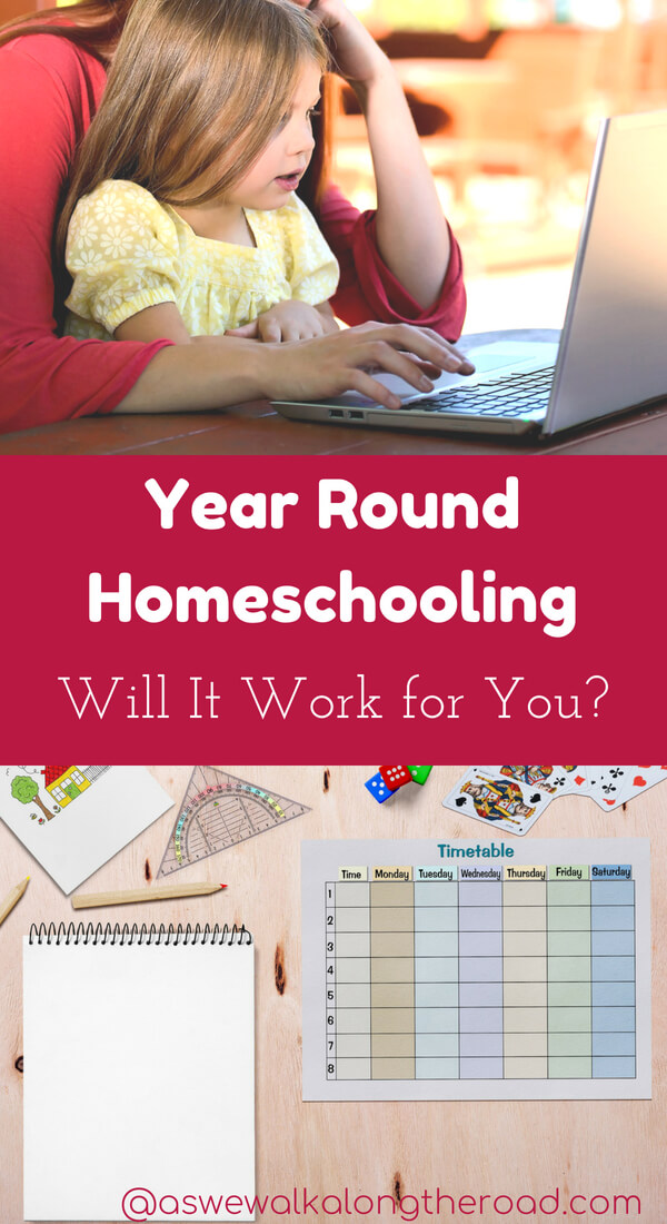 Year round homeschooling