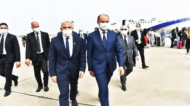 """وزير خارجية إسرائيل يصل المغرب في أول """"زيارة رسمية """""""