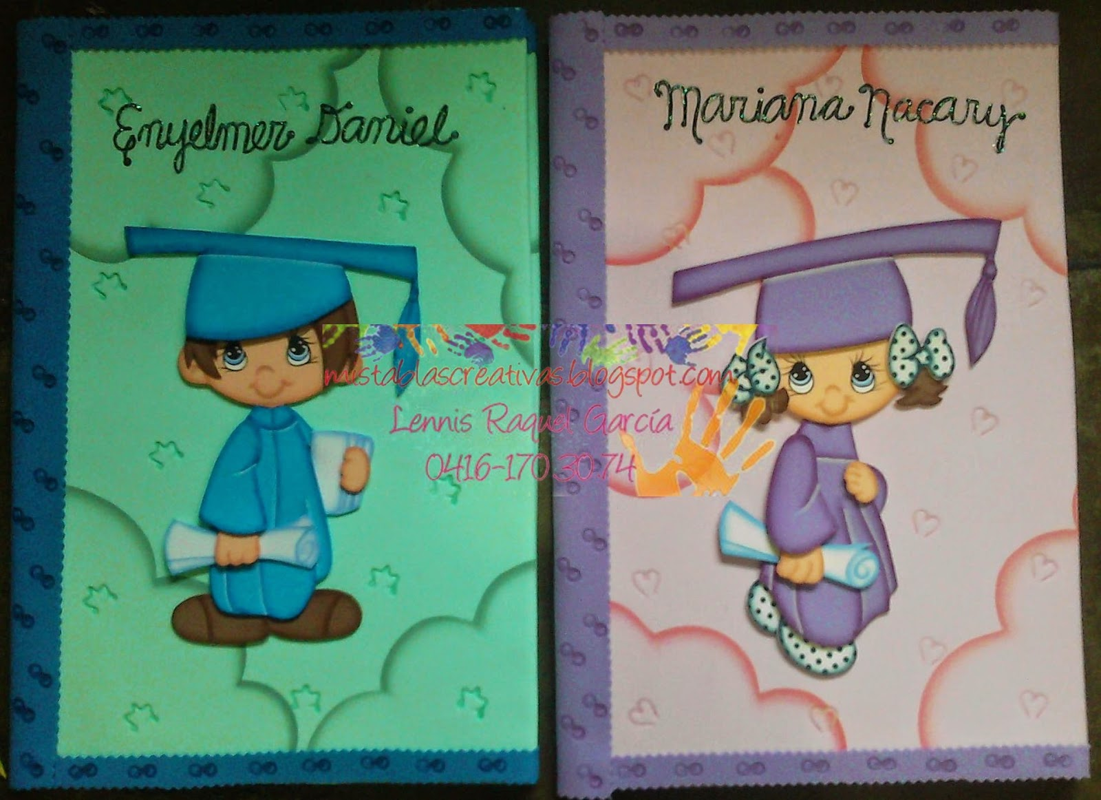 Como Decorar Una Carpeta Para Niños Carpetas Decoradas En Foamy Y Material Reciclable Para Guardar Los