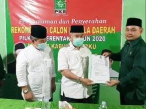 Giliran PKB Keluarkan SK Rekomendasi Pasangan Bekerja Lanjutkan