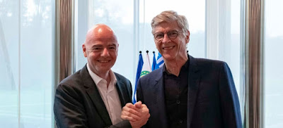 Arsene Wenger as a new FIFA Cheif for Global Football Development