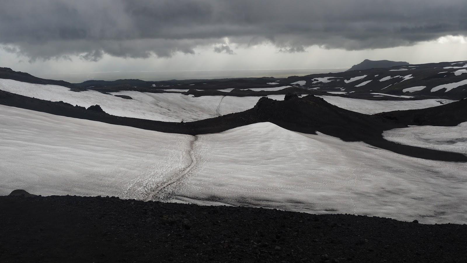 trasa Laugavegur i Fimmvodurhals, atrakcje południowej Islandii