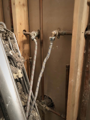 remove removal shower panel tower plumber