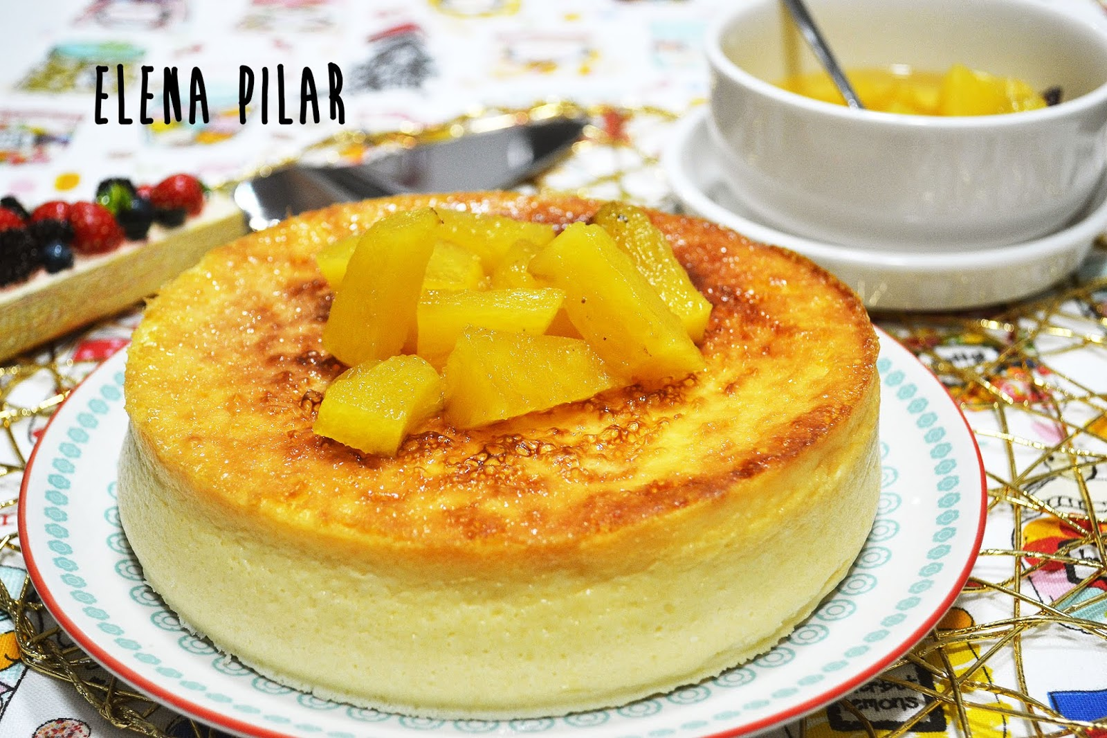 Receta tarta de pina fria con leche condensada