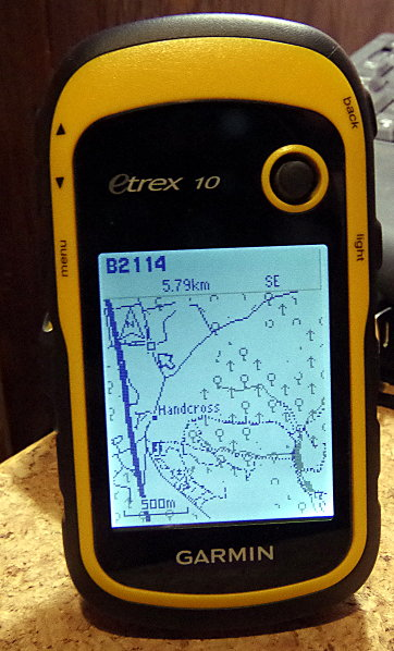 Captain Bodgit: Garmin eTrex 10: adding topo maps