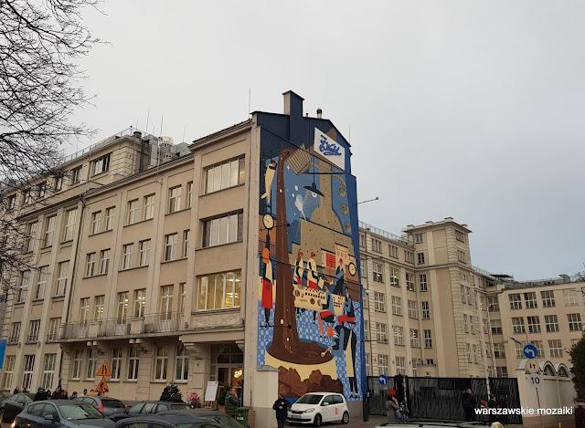 Warszawa Warsaw Kamionek Praga Południe architektura architecture LOTTE ewedel mural