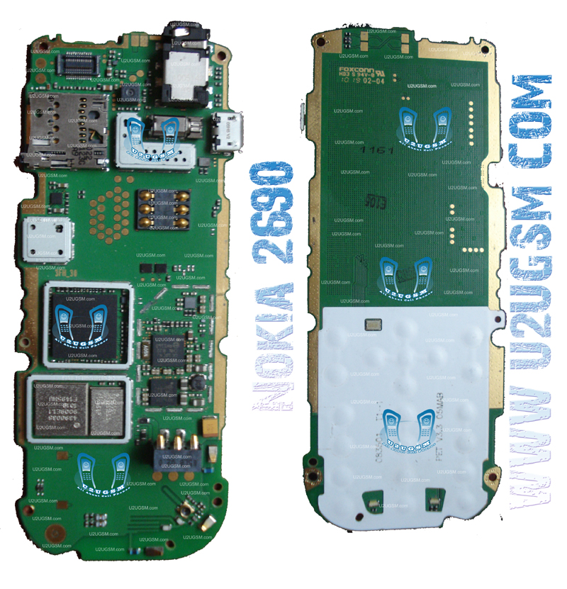 TELENET MULTIMEDIA: Nokia2690FullPCBDiagramMother