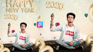 Happy New Year PicsArt Editing 2020 Background & PNG Download