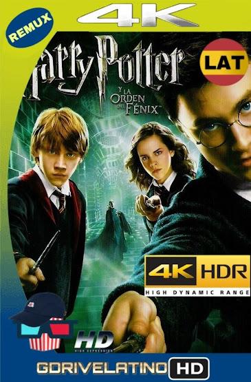 Harry Potter y La Orden del Fénix (2007) REMUX 4K HDR Latino-Ingles MKV