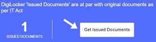 get issued document par click kare