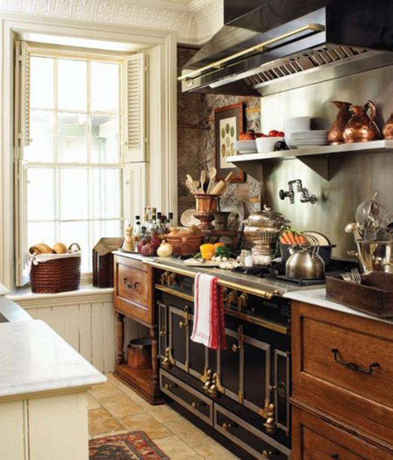 Charming Country Kitchen Decorations With Italian Style: Creative Choices Interior(s): Feature Friday
