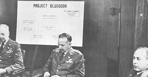 Everyone involved in Project Blue Book didn't want to be involved with it.