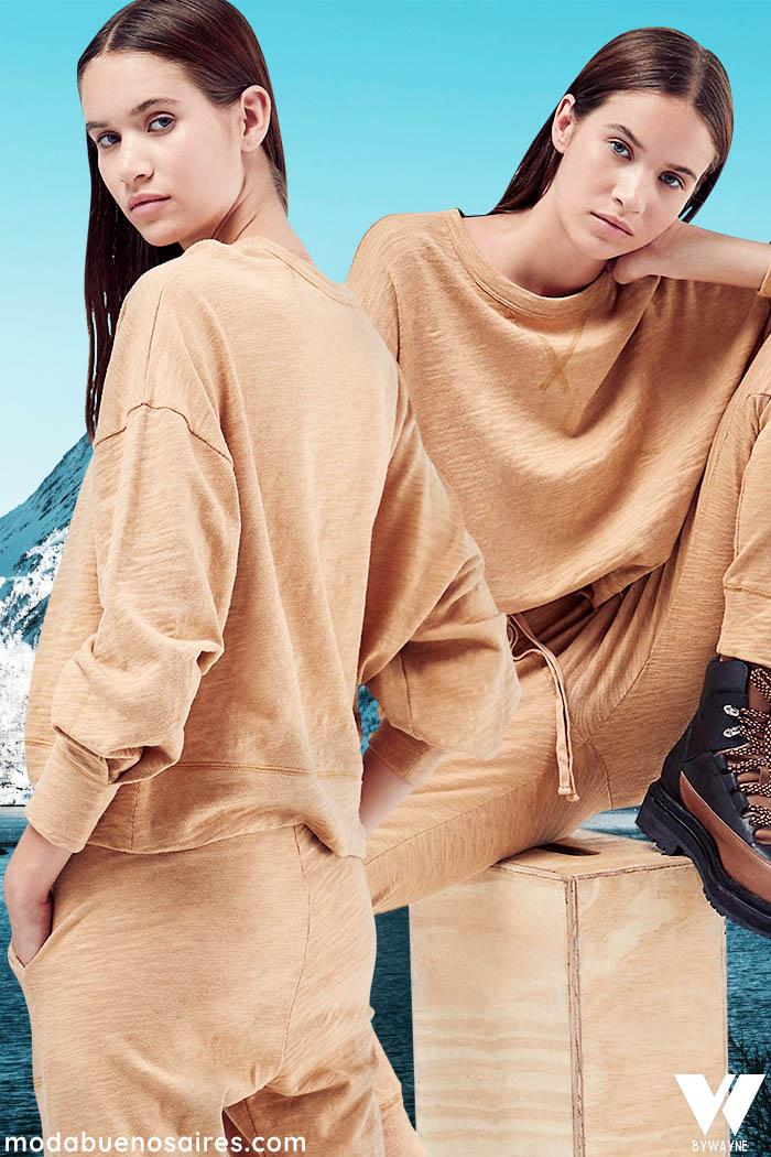 conjunto para look comfy moda mujer invierno 2021