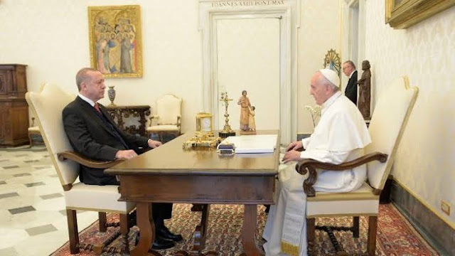 Erdogan Undang Paus Francis ke Istanbul untuk Peresmian Masjid Hagia Sophia