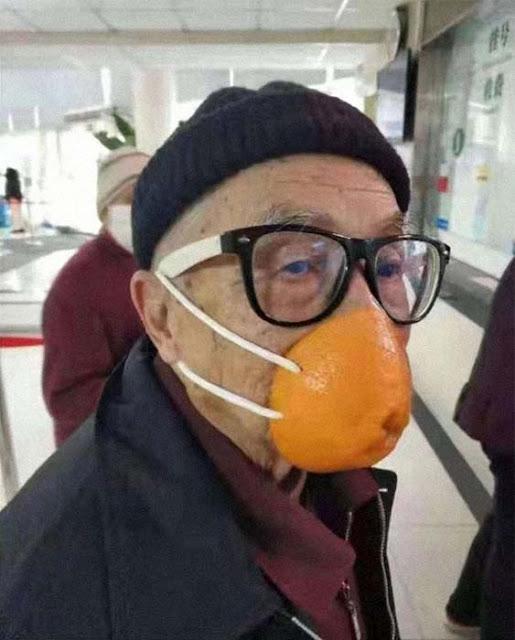 Coronavirus, un masque aux agrumes