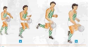 Drible  No handebol é o movimento de bater a bola contra o solo com uma das  mãos estando o jogador parado ou em movimento. O drible permite ao jogador  ... 16e29f1b00899
