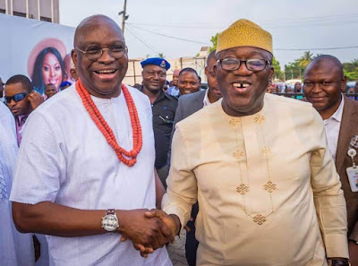 Governor Fayemi Attends The Wedding Ceremony Of Fayose's Son