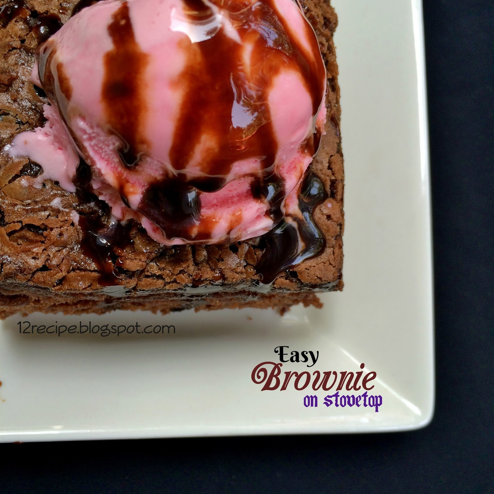 Easy Brownie On Stovetop Recipe Book