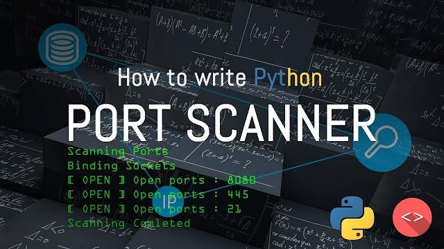 Code Port Scanner In Python3