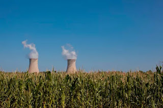 Nuclear cooling towers (Credit: Getty Images) Click to enlarge.