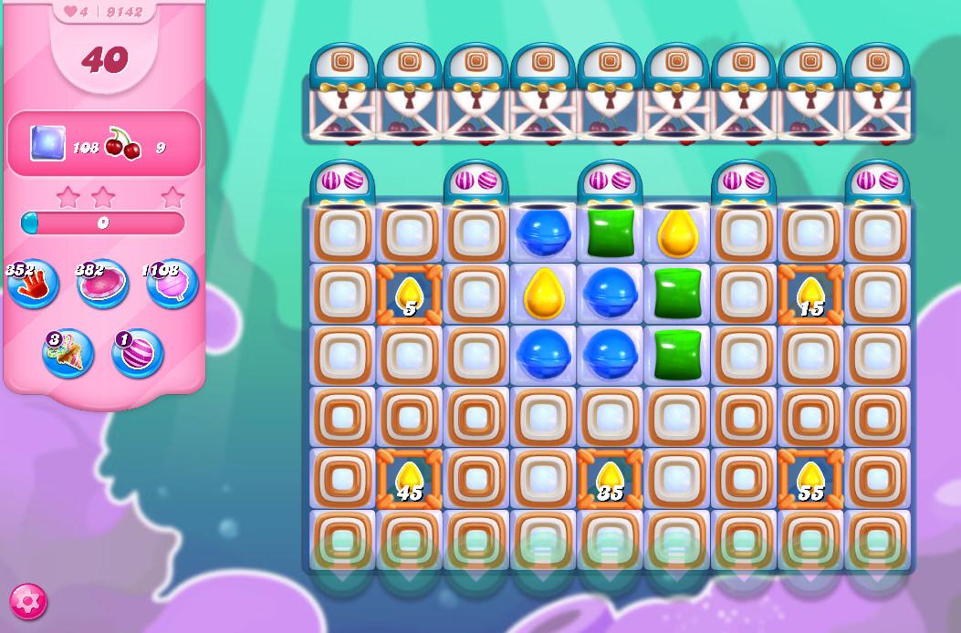 Candy Crush Saga level 9142